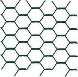 Pletivo HEX,20/1x1000x25M PVC