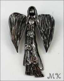 Kovaný anděl M2
