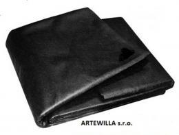 Netkaná textilie černá 1,6 x 10 m mulčovací - cena m2
