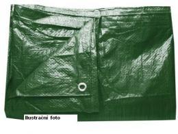 Plachta krycí s oky zakrývací 3 x 4 m PROFI 140g/m2