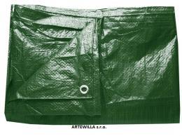 Plachta zakrývací  3 x 5 m    200g/m2